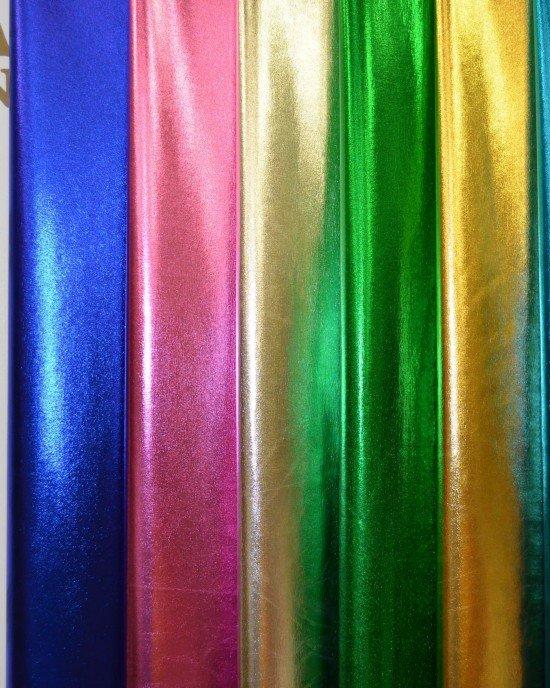 Бифлекс сатиновый в стиле Versace