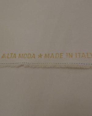 Белая костюмная ткань
