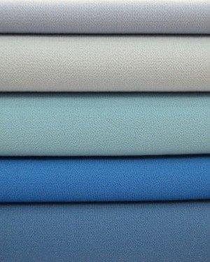 Синяя костюмная ткань