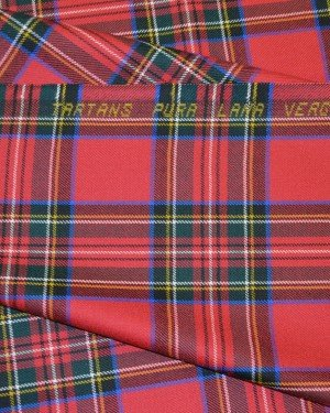 Ткань костюмная шотландка