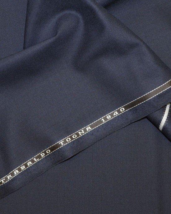 Ткань костюмная темно-синяя