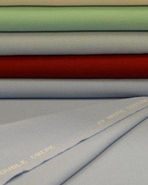 Костюмные однотонные ткани бирюзовых оттенков