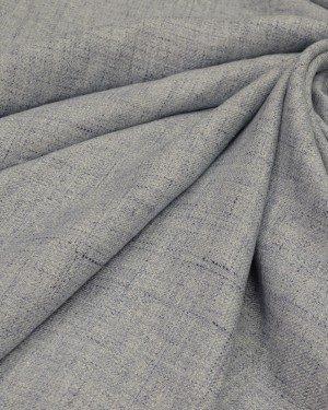 Ткань лён серый