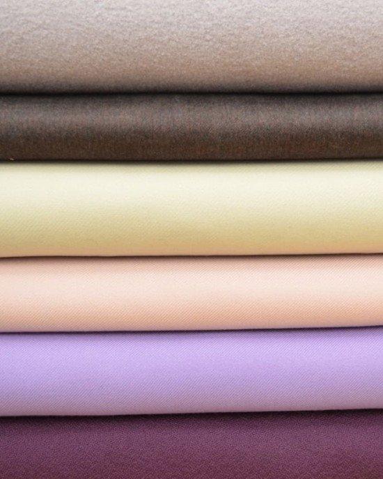 Пастельные пальтовые ткани