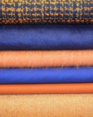 Теплые пальтовые ткани