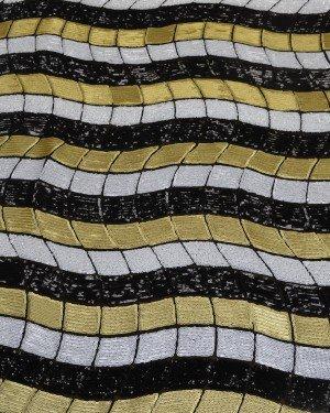 Разноцветная ткань с пайетками