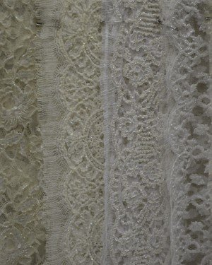 Свадебные ткани с блеском