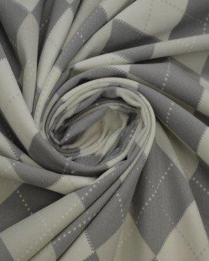 Ткань вельвет ромб