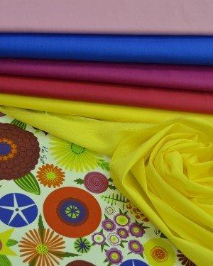 Яркие плательно-блузочные ткани