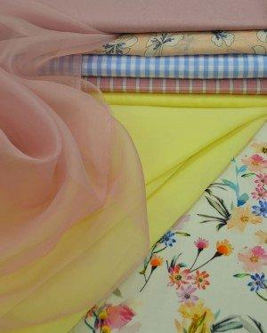 Плательно-блузочные ткани с вискозой