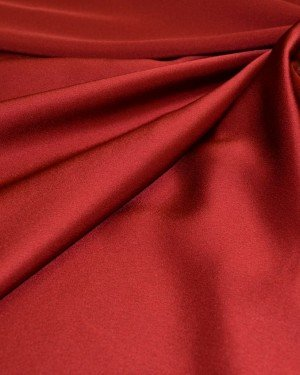 Ткань вискоза красная