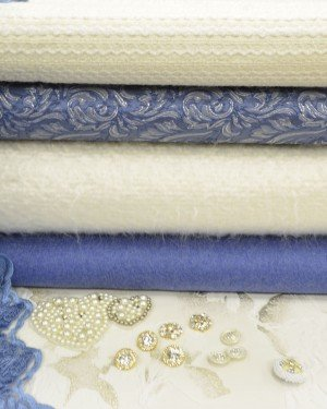 Жаккардовые ткани с текстурой