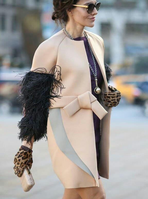 неопреновое пальто