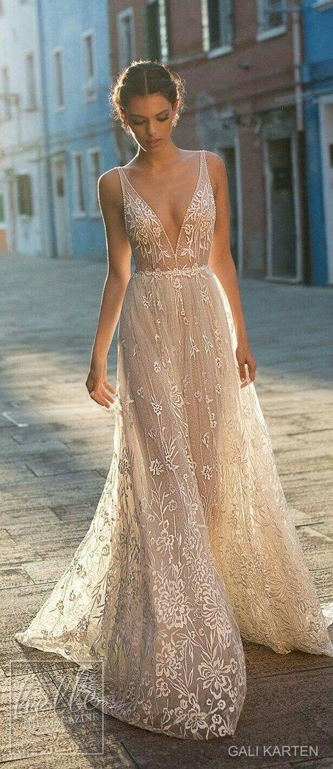 какая ткань для свадебного платья